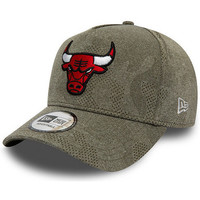 Accessoires textile Homme Casquettes New-Era Casquette  CHICAGO BULLS ENGINEERED PLUS A FRAME 9FORTY Vert
