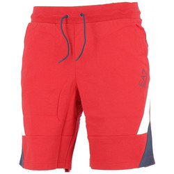 Vêtements Homme Shorts / Bermudas Ea7 Emporio Armani Bermuda EA7 Rouge