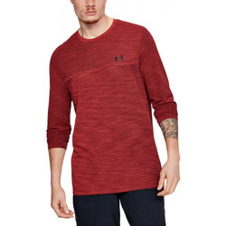 Vêtements Homme T-shirts manches longues Under Armour Tee-shirt Under Rouge