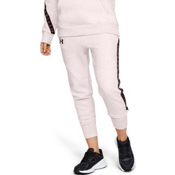 Vêtements Femme Pantalons de survêtement Under Armour Pantalon de Rose