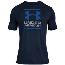 Vêtements Homme T-shirts manches courtes Under Armour Tee-shirt Under Bleu