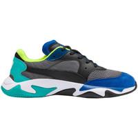 Chaussures Homme Baskets basses Puma Basket  STORM Bleu