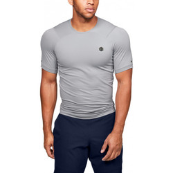 Vêtements Homme T-shirts manches courtes Under Armour Tee-shirt Under Gris
