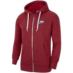 Vêtements Homme Sweats Nike Sweat à capuche  HERITAGE Rouge
