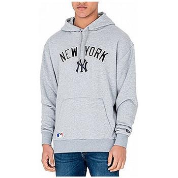 Vêtements Homme Sweats New-Era Sweat à capuche  NEW YORK YANKEES UNIVERSITY CLUB Gris