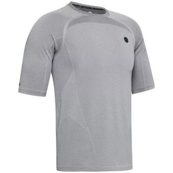 Vêtements Homme T-shirts manches courtes Under Armour Tee-shirt Under Gris