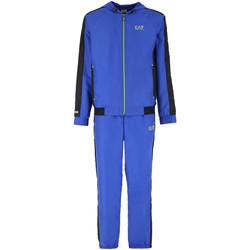 Vêtements Homme Ensembles de survêtement Ea7 Emporio Armani Ensemble de Bleu
