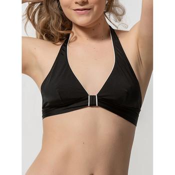 Vêtements Femme Maillots de bain séparables Luna Haut maillot de bain triangle sans armatures Homonoia Noir