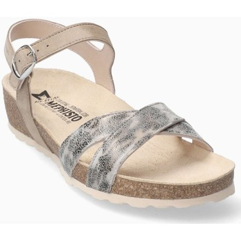 Chaussures Femme Sandales et Nu-pieds Mephisto Sandale cuir STELA Gris