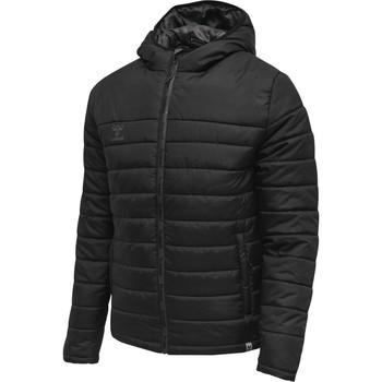 Vêtements Homme Doudounes Hummel Parka  Quilted North noir/gris anthracite