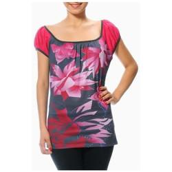 Vêtements Femme T-shirts manches courtes Smash T Shirt femme Batang gris/rose