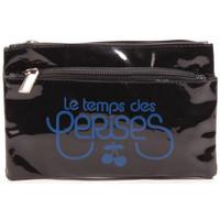 Sacs Femme Trousses Le Temps des Cerises Trousse Rumba 17 Noir/Bleu Royal 38