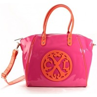 Sacs Femme Cabas / Sacs shopping Christian Lacroix Sac Cabas Jonc 4 Fushia/Orange Rose