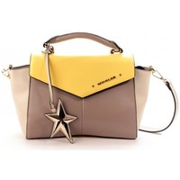 Sacs Femme iOS et Android Thierry Mugler Sac à Main Angie 2 Taupe/Mastic/Citron Multicolore