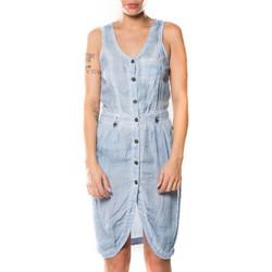 Vêtements Femme Robes courtes Deeluxe Robe ema bleu (rft)
