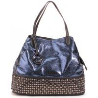 Sacs Femme Cabas / Sacs shopping Thierry Mugler Sac Cabas Addict 2 Bleu Bleu