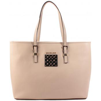 Sacs Femme Cabas / Sacs shopping Thierry Mugler Sac cabas Eclat 5 Beige