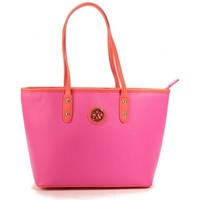 Sacs Femme Cabas / Sacs shopping Christian Lacroix Sac Eternity 9 Fushia/Orange Rose