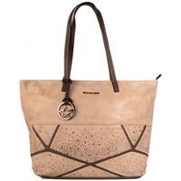 Sacs Femme Cabas / Sacs shopping Thierry Mugler Sac Cabas Ivresse 1 Beige/Taupe