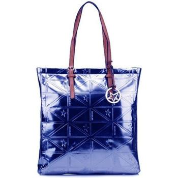 Sacs Femme Cabas / Sacs shopping Thierry Mugler Sac Cabas Caprice 1 Bleu Bleu