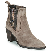 Chaussures Femme Bottines Regard ELCHE V4 VELOURS TALPA Beige