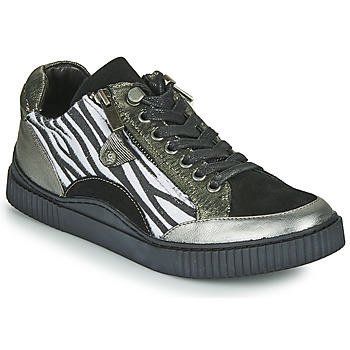 Chaussures Femme Baskets basses Regard IDEM V5 CRIS ACERO Noir