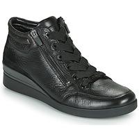Chaussures Femme Baskets montantes Ara LAZIO-ST-HS Noir