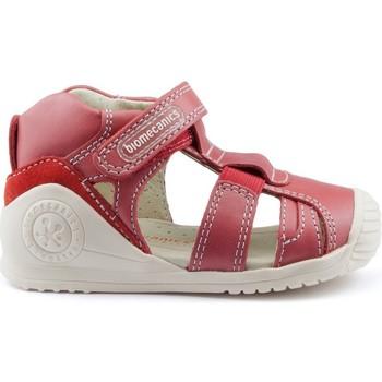Chaussures Enfant Sandales et Nu-pieds Biomecanics GIAMO GOMAS LATERALES RED