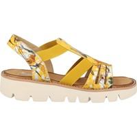 Chaussures Femme Sandales et Nu-pieds Rieker BOUQUET JAUNE