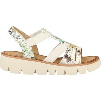 Chaussures Femme Sandales et Nu-pieds Rieker v7371 blanc