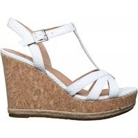 Chaussures Femme Sandales et Nu-pieds UGG Sandale compensée à boucle Blanc