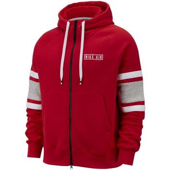 Vêtements Homme Sweats Nike Sweat à capuche  AIR Rouge