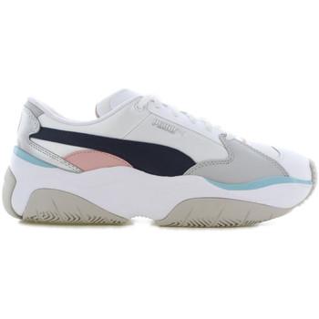 Chaussures Femme Baskets basses Puma Basket  STORMY Blanc