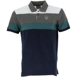 Vêtements Homme Polos manches courtes Emporio Armani EA7 Polo EA7 Emporio Bleu