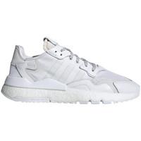Chaussures Homme Baskets basses adidas Originals Basket  NITE JOGGER Blanc