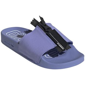 Chaussures Femme Claquettes adidas Originals Sandale adidas Violet