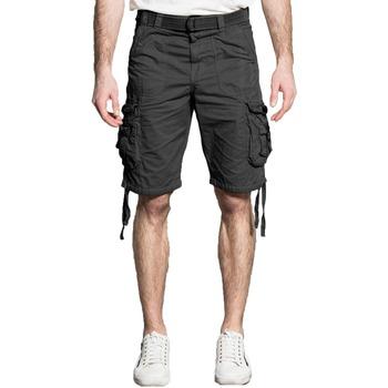 Vêtements Homme Shorts / Bermudas Deeluxe Short HEAVEN Charcoal