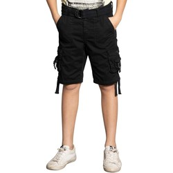 Vêtements Garçon Shorts / Bermudas Deeluxe Short HEAVEN Charcoal