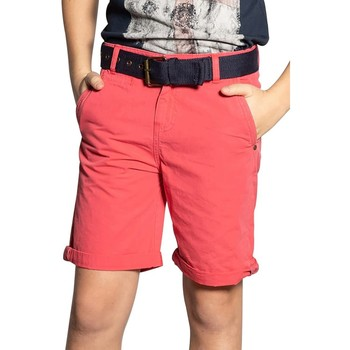 Vêtements Garçon Shorts / Bermudas Deeluxe Short ELIAZ Light Red