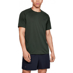 Vêtements Homme T-shirts manches courtes Under Armour Tee-shirt Under Vert