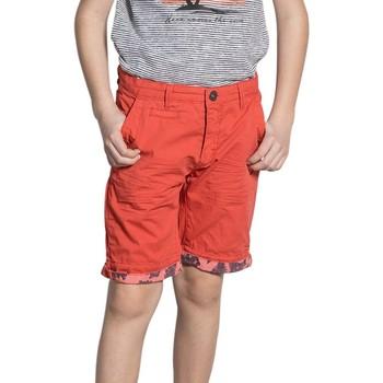 Vêtements Garçon Shorts / Bermudas Deeluxe Short FLICKSON Tomato