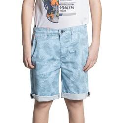 Vêtements Garçon Shorts / Bermudas Deeluxe Short VEGGIE Azur