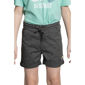 Vêtements Garçon Shorts / Bermudas Deeluxe Short CLOUD Charcoal