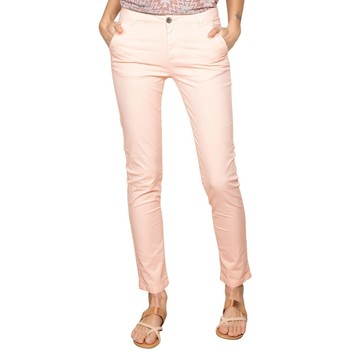Vêtements Femme Chinos / Carrots Deeluxe Pantalon SHINO Light Corail