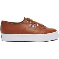 Chaussures Baskets basses Superga Basket  2730-NAPPALEAU Marron