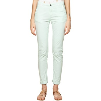 Vêtements Femme Chinos / Carrots Deeluxe Pantalon SHINO Light Mint