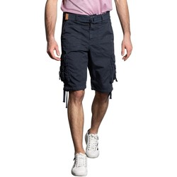Vêtements Homme Shorts / Bermudas Deeluxe Short HEAVEN Navy