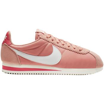 Chaussures Femme Baskets basses Nike Basket  CLASSIC CORTEZ NYLON Rose