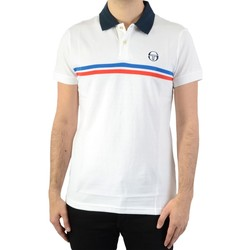 Vêtements Homme Polos manches courtes Sergio Tacchini Supermac White/Roy/ Red
