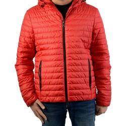Vêtements Homme Doudounes Geox Doudoune Wilmer Hood Flame Red